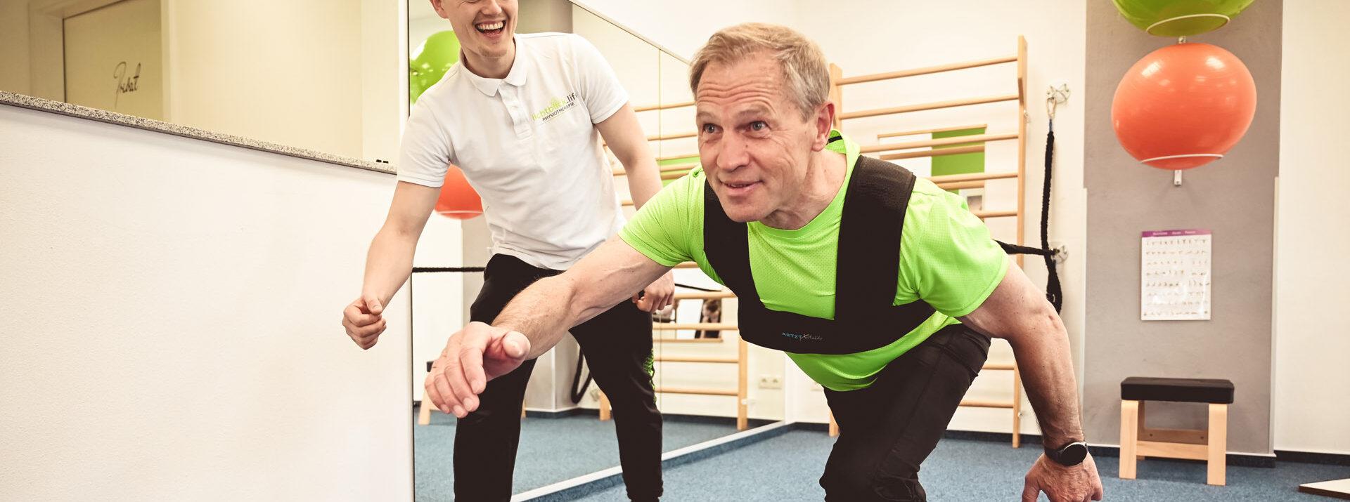 Individuelles Sportangebot für jeden Patienten